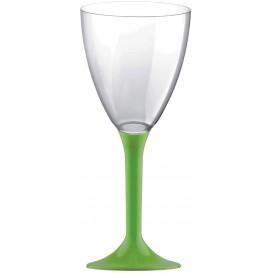 Calice Plastica Vino Gambo Pistacchio 180ml 2P (200 Pezzi)