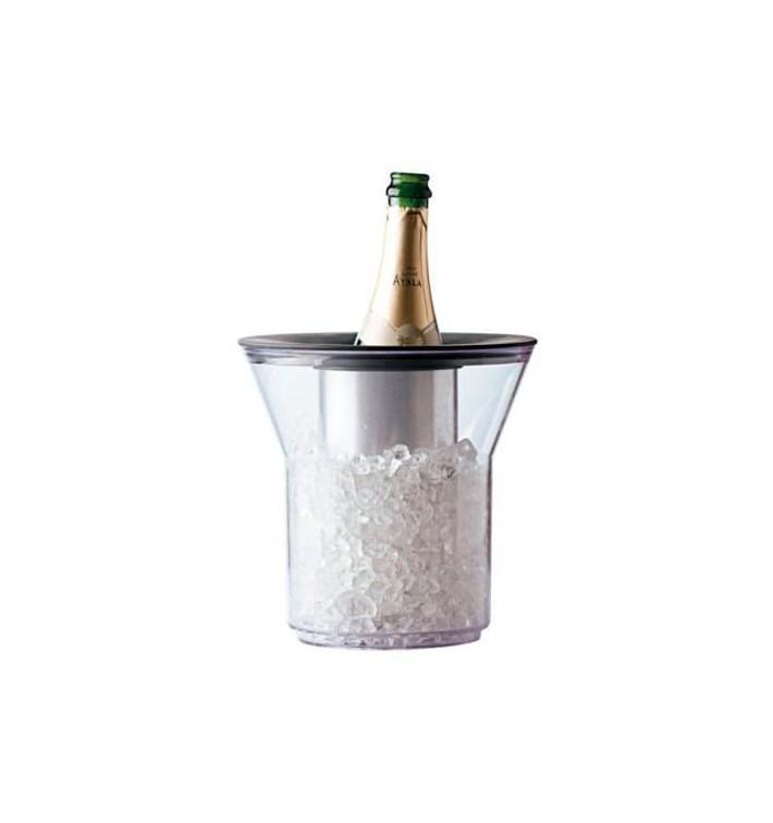Secchio di Plastica per 1 Bottiglia Trasp. PCTA (1 Pezzi)