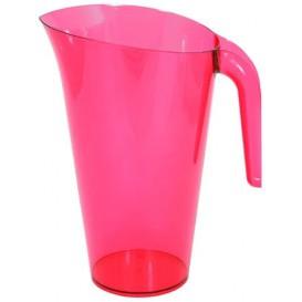 Brocca Plastica Lampone Riutilizzabile 1.500 ml (20 Pezzi)