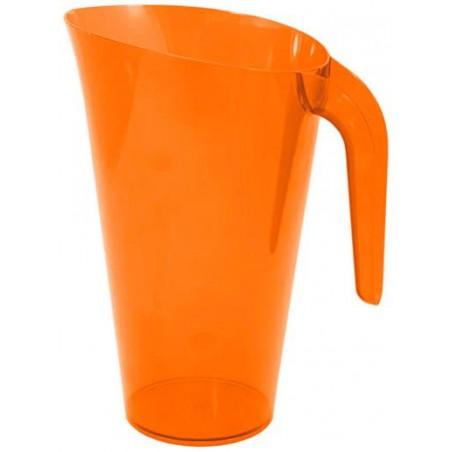 Brocca Plastica Arancione Riutilizzabile 1.500 ml (1 Unità)