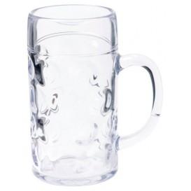 Boccale di Plastica per Birra Trasp. Ø77mm 500ml (1 Pezzo)