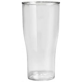 Bicchiere Riutilizzabili SAN Per Birra Trasp. 400ml (5 Pezzi)