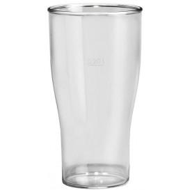 Bicchiere Riutilizzabili SAN Per Birra Trasp. 400ml (80 Pezzi)