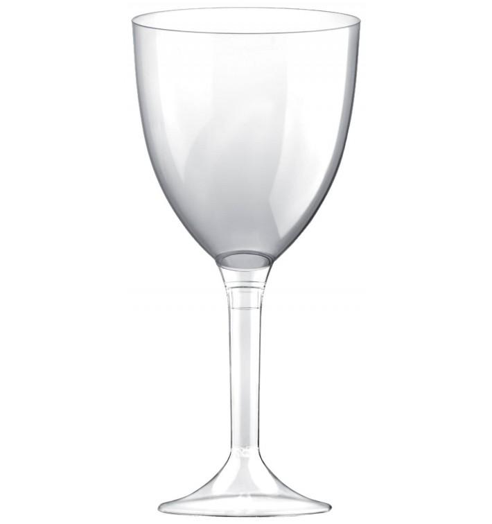 Calice Plastica Vino Gambo Transp. 300ml 2P (20 Pezzi)