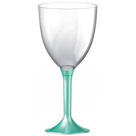 Calice Plastica Vino Gambo Tiffany Perlati 300ml 2P (200 Pezzi)