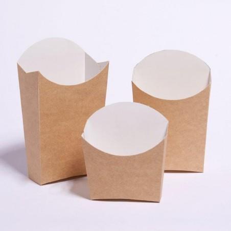 Caja para Fritas Pequeña 8,2x3,1x9cm (600 Uds)