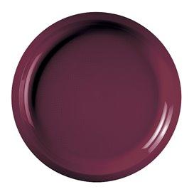 Piatto di Plastica Bordo Round PP Ø290mm (150 Pezzi)