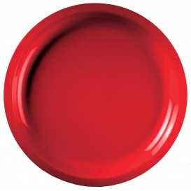 Piatto di Plastica Verde Acido Ø290mm (150 Pezzi)