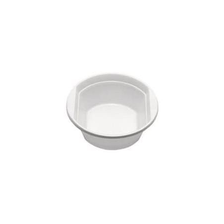 Ciotola di Plastica PS Bianca 250 ml  (100 Pezzi)