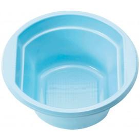 Ciotola di Plastica PS Azzurro 250ml Ø12cm (30 Pezzi)