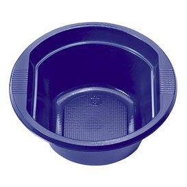 Ciotola di Plastica PS Blu Scuro 250 ml Ø12cm (660 Pezzi)