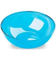 Ciotola di Plastica Turchese 3500ml Ø 27 cm (20 Pezzi)