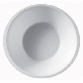 Ciotola di Plastica Bianca Ø155mm 450ml (50 Pezzi)