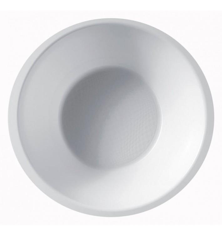 Ciotola di Plastica Bianca Ø155mm 450ml (300 Pezzi)