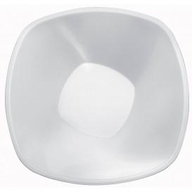 Ciotola di Plastica Bianca Square PP Ø277mm 3000ml (3 Pezzi)