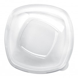 Coperchio di Plastica Transp. per Ciotola Square PET 210mm (3 Pezzi)