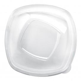 Coperchio di Plastica Transp. per Ciotola Square PET 210mm (30 Pezzi)