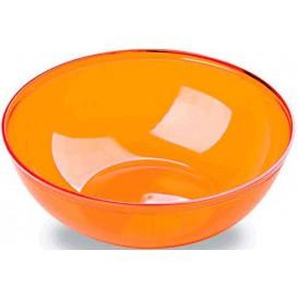 Ciotola di Plastica Arancione 3500ml Ø 27 cm (20 Pezzi)