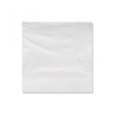 Tovagliolo di Carta 2V 25x25cm Bianco (3600 Pezzi)