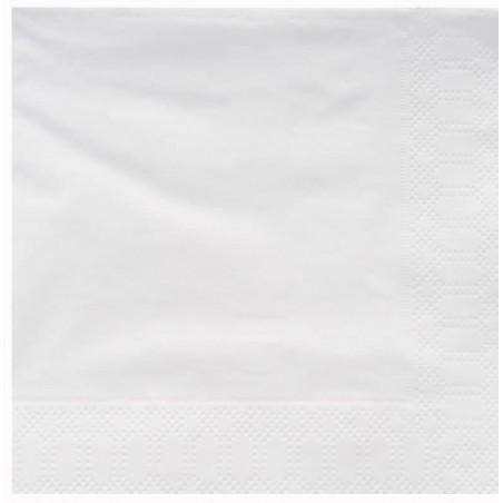 Tovagliolo di Carta 2V 25x25cm Bianco (100 Pezzi)