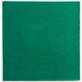 Tovagliolo di Carta Punta Punta 25x25cm Verde (1400 Pezzi)