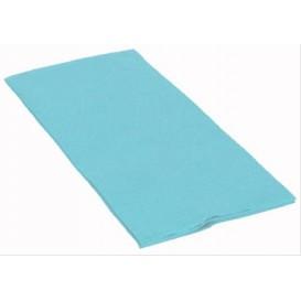 Tovagliolo di Carta 1/8 40x40cm Azzurro Punta- Punta (1800 Pezzi)