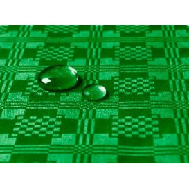 Tovaglia Impermeabile Rotolo Verde Scuro 5x1,2 metri (1Unità)