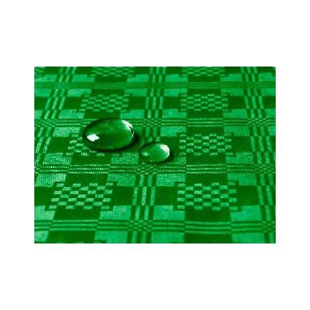 Tovaglia Impermeabile Rotolo Verde Scuro 1,2x5 metri (10 Pezzi)