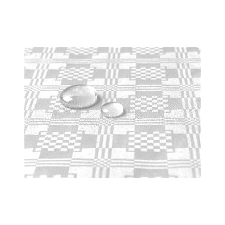 Tovaglia Impermeabile Rotolo Bianco 5x1,2 metri (10 Pezzi)