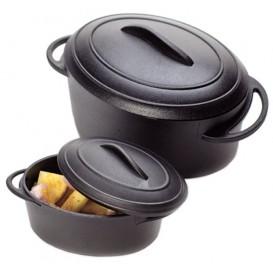 MiniCiotola Degustazione nero con coperchio 80ml (6 Pezzi)