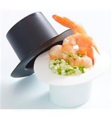 """Cappello Degustazione """"Hot Form"""" Bianco PP 60ml (144 Pezzi)"""