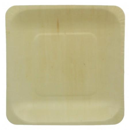 Piatto di Foglia di Palma quadrato 14x14cm (300 Pezzi)