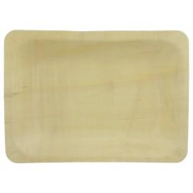 Vassoi di Legno 19,5x14x3cm (25 Pezzi)