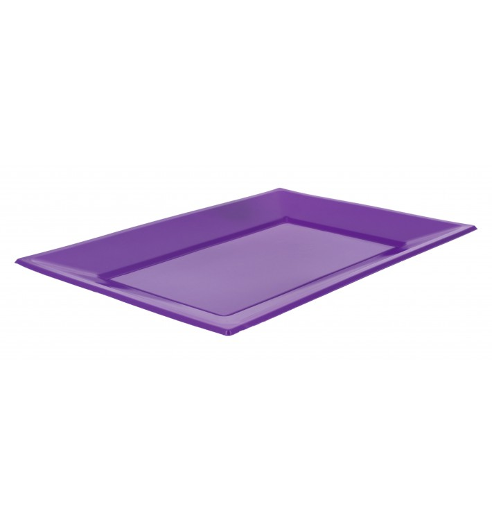 Vassoio Plastica Lilla 330x225mm (180 Pezzi)