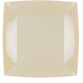 Piatto Plastica Piano Crema Nice PP 290mm (144 Pezzi)