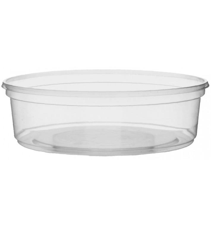 Coppette Plastico Trasparente 125ml Ø10,5cm (100 Pezzi)