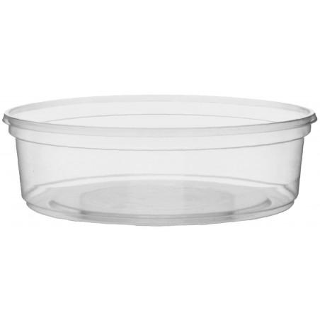 Coppette Plastico Trasparente 125ml Ø10,5cm (50 Pezzi)