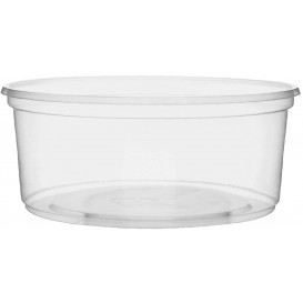 Coppette Plastico Trasparente 200ml Ø10,5cm (100 Pezzi)
