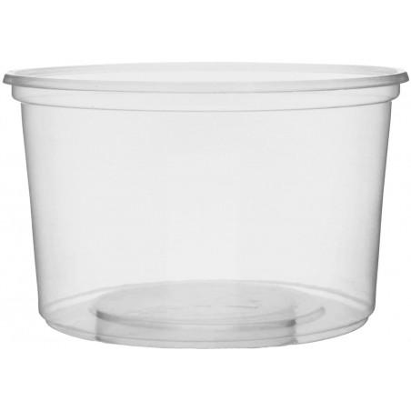 Coppette Plastico Trasparente 300ml Ø10,5cm (50 Pezzi)