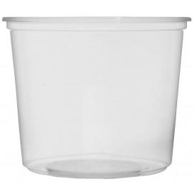 Coppette Plastico Trasparente 400ml Ø10,5cm (50 Pezzi)