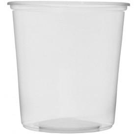 Coppette Plastico Trasparente 500ml Ø10,5cm (100 Pezzi)