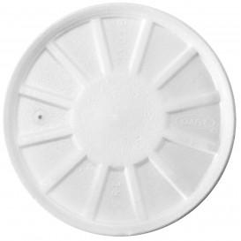 Coperchio Termici EPS Ventilato Bianco Ø11cm (50 Pezzi)