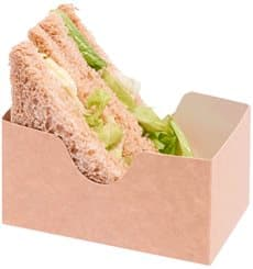 Porta Sandwich Kraft (25 Pezzi)