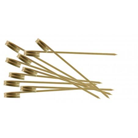 Spiedi in Bamboo Ricciolo 90mm (5000 Pezzi)
