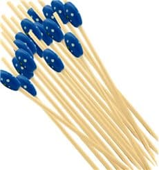 """Spiedi di Bambu """"Punteado"""" Blu 120mm (5000 Pezzi)"""