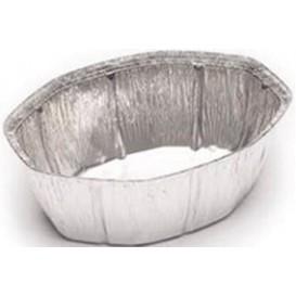 Contenitore in Alluminio 2400ml Ovali per Pollo (125 Pezzi)
