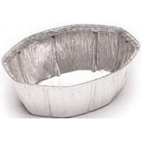 Contenitore in Alluminio 2400ml Ovali per Pollo (500 Pezzi )
