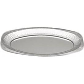 Vassoio Ovale di Alluminio 1650ml (10 Pezzi)
