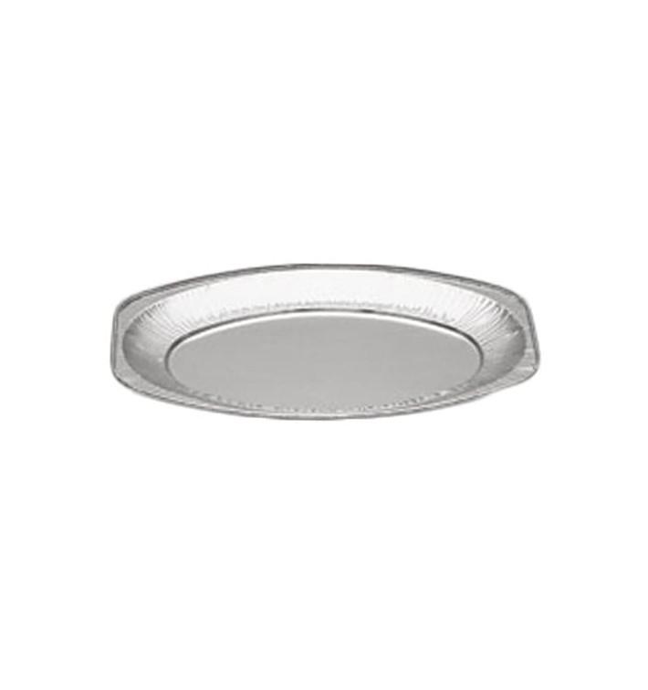 Vassoio Ovale di Alluminio 870ml (10 Pezzi)