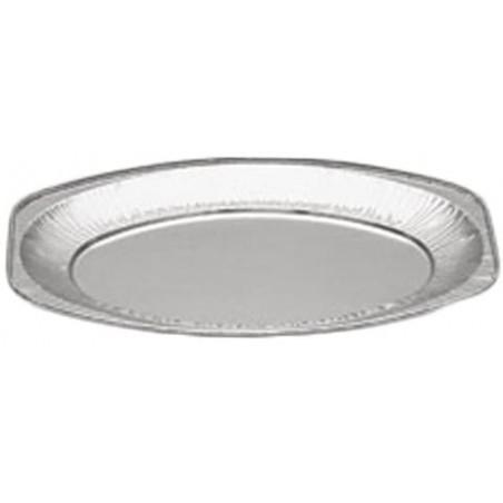 Vassoio Ovale di Alluminio 870ml (100 Pezzi)